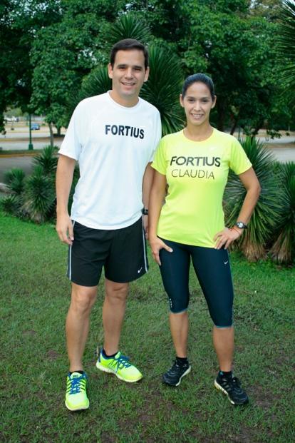 Foto Fortius - Jesús Marin y Claudia Andrade